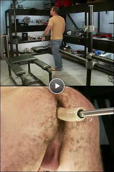 dick fucking machine video