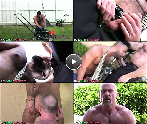 mature gay muscle men video